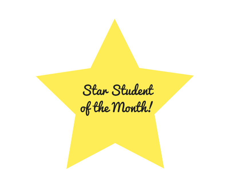 January Star Student!