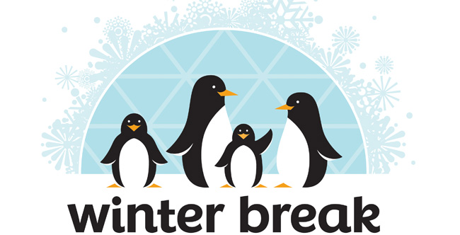Winter Break Dec 23 – January 6