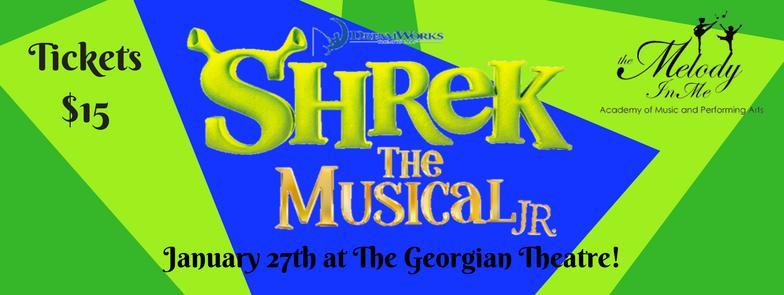 Shrek the Musical Jr.!