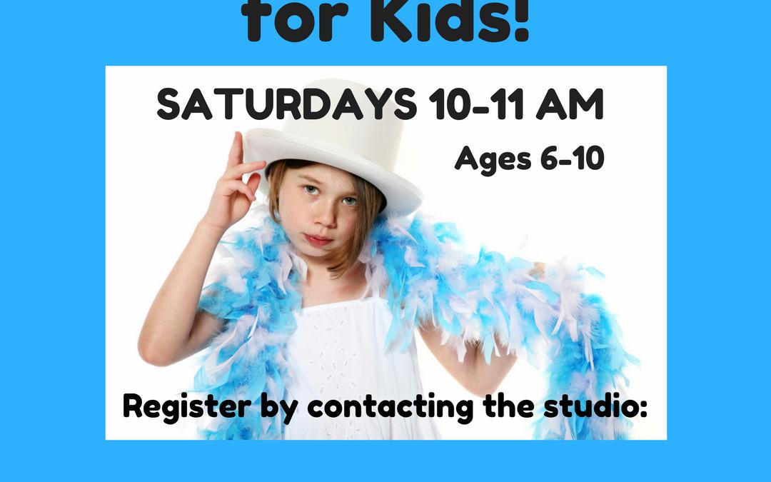 Saturday Music Theatre Classes!