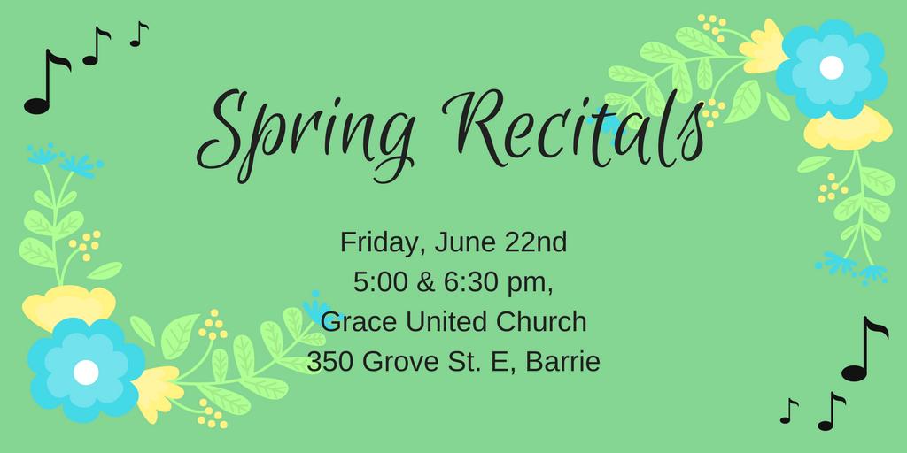 June Recitals