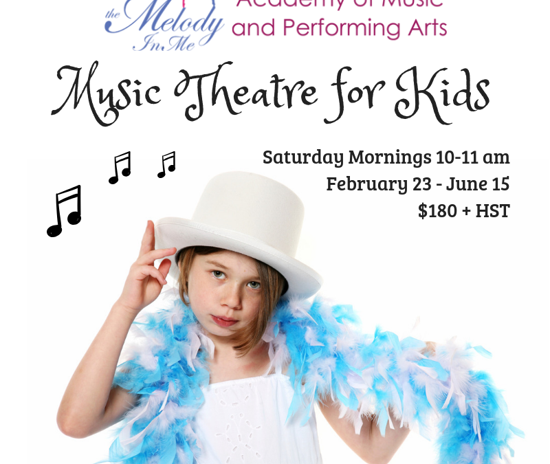 New Saturday Morning Musical Theatre Class!